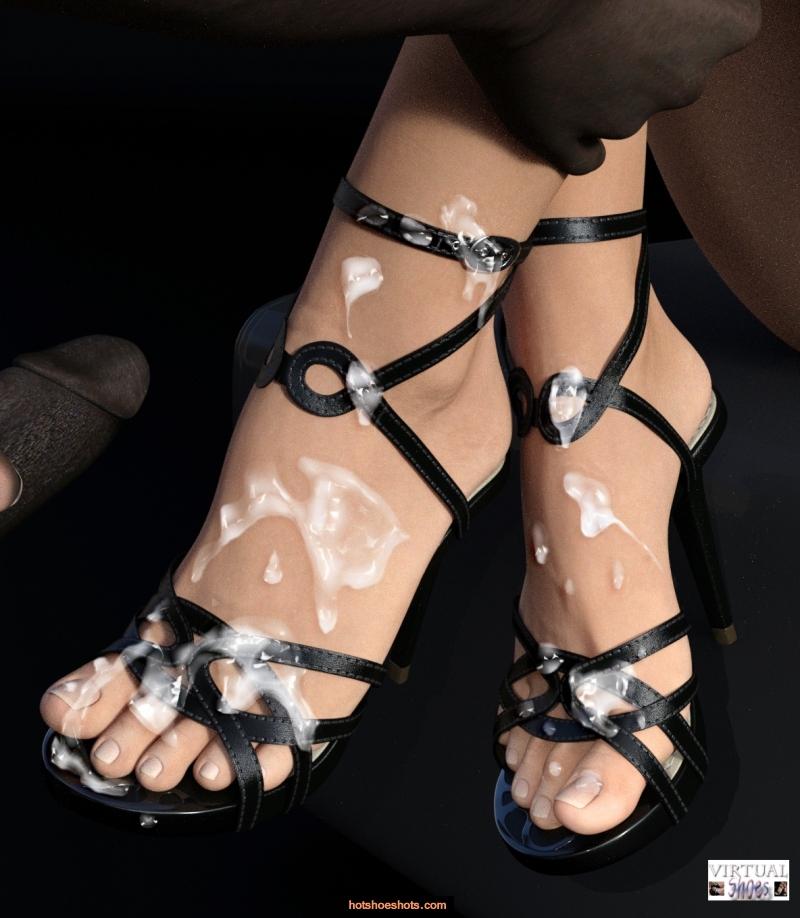 Apologise, but, bukkake high heels you
